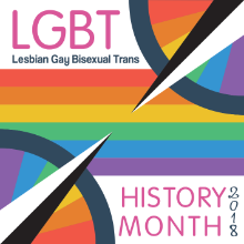 logo for LGBTHM2018
