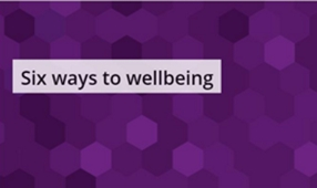 Six ways to wellbeing logo